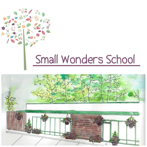 Small Wonders School Logo Collage