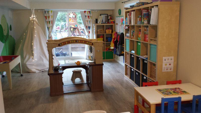 Playroom back door view 6-15